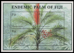 Fidschi 2000 - Mi-Nr. Block 37 ** - MNH - Palme / Palm Tree - Fiji (1970-...)