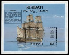 Kiribati 1990 - Mi-Nr. Block 18 ** - MNH - Schiffe / Ships - Kiribati (1979-...)