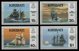 Kiribati 1988 - Mi-Nr. 513-516 ** - MNH - Schiffe / Ships - Kiribati (1979-...)