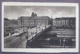 Ludwigshafen Am Rhein - Viadukt Und Stadthaus Nord / Strassenbahn - Ludwigshafen