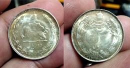 IRAN 2 SILVER COINS (G#05-110.01+0.2) - Iran