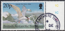 British Antarctic Territory 1998 Used Sc #267 20p Antarctic Tern Birds - Used Stamps
