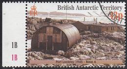 British Antarctic Territory 2001 Used Sc #299 43p Port Lockroy 1945 - Used Stamps