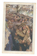 """Postcard Vintage 1930's Used  """" R.A.M.C."""" Royal Army Medical Corps See Description AA - Regimenten"""