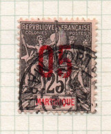 37CRT622 - MARTINICA MARTINIQUE 1912 ,  Yvert N. 79 Usato . - Usati