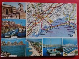 CPSM 34 LANGUEDOC  ×× CIRCUIT TOURISTIQUE HÉRAULT ×× VOYAGÉE 1982 ×× ÉDITEUR  STE ED. DE FRANCE×× BON ETAT - Unclassified