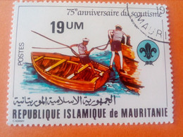 MAURITANIE - MAURITANIA - République Islamique De Mauritanie - Timbre 1982 : 75 Ans Du Scoutisme - Mauritania (1960-...)