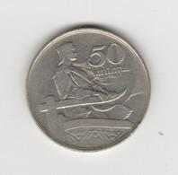 LETTONIE - 50 SANTIMU 1922 - Latvia