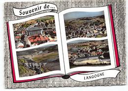Langogne. D48 Souvenir De.... Edit Lapie Multivues - Langogne