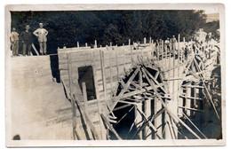 C Photo Travaux Publics Construction D'un Pont  Vers 1920/30 à Situé ... - Other