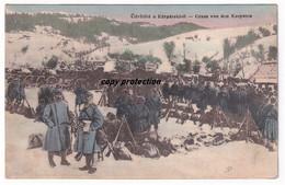 Gruss Von Den Karpaten, Feldpost Etappen Fernsprechdepot Der Deutschen Südarmee, Üdvözlet A Karpatokbol, 1915 - Hongarije