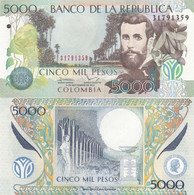 Colombia - 5000 Pesos 10.09. 2013 P. 452p UNC Lemberg-Zp - Colombia