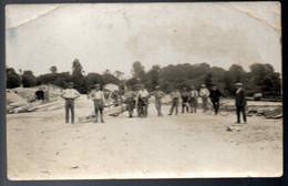 C Photo Travaux Publics - Dépot Ou Chantier De Fabrication De Poteaux électriques En Béton   Vers 1930 à Situé ... - Other