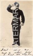 MISS VESTA TILLEY MALE IMPERSONATOR COMEDIAN SINGER ACTOR OLD  R/P POSTCARD THEATRE MUSIC HALL PERFORMER - Teatro