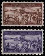 Russia / Sowjetunion 1949 - Mi-Nr. 1399-1400 ** - MNH - Viehzucht - Ungebraucht