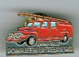 Luxembourg Pin`s Bettembourg Pompiers 1950 - Altri