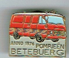 Luxembourg Pin`s Bettembourg Pompiers 1974 - Altri