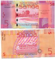 Samoa - 5 Tala 2012 UNC Pick 38b Lemberg-Zp - Samoa