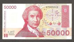 Croazia - Banconota Circolata Da 50.000 Dinari P-26a - 1993 #19 - Croatia