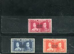 Cook 1937 Yt 56-58 * - Cook Islands