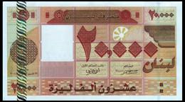 # # # Banknote Aus Dem Libanon (Lebanon) 20.000 Livres UNC # # # - Lebanon