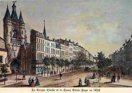 33 - Bordeaux - Vieille Gravure De 1830 - La Grosse Cloche Et Le Cours Victor Hugo - Ancien Fosset De Bordeaux - CPM - V - Bordeaux