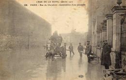 Les Inondations De 1910 . PARIS - Rue Du Chevalet .......... - Alluvioni Del 1910