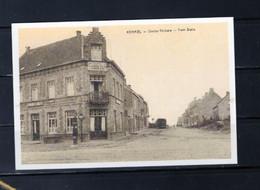 PHOTO  KEMMEL HEUVELLAND  WEST VLAANDEREN   TRAM CAFE VICINAL REPRO - Heuvelland