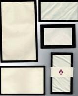 Lot 2 Anciennes Enveloppes Et 2 Feuilles Vierges , Année 1920 Environ. - Décrets & Lois
