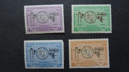 1965 Yv 247-250 MNH C60 - Saudi Arabia