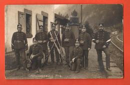 ZOF-06 Grenzbesetzung 1914 Occupation Frontières Militär Militaire. Stempel Einsiedeln 1915 Nach Baden Deutschland - SZ Schwyz