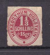 Schleswig-Holstein - 1865/66 - Michel Nr. 23 - Ungebr. - 25 Euro - Schleswig-Holstein