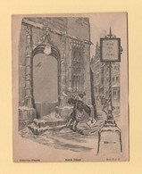 Enveloppe Illustree Neuve - Porte Timbre -  Collection Gravelle - Facteur à La Corne - 1877-1920: Semi Modern Period