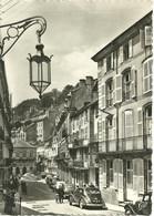 CPSM GF 88 PLOMBIERES LES BAINS / LA RUE STANISLAS - Plombieres Les Bains