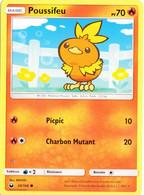Carte Pokémon Poussifeu 26/168 PV70 - Pokemon