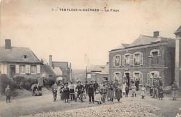 TEMPLEUX LE GUÉRARD (80) La Place - Sonstige Gemeinden