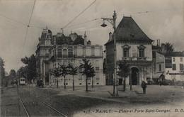 NANCY Place Et Porte Saint-Georges - Nancy