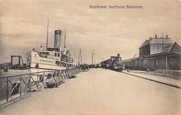 Sweden - STAVOREN - Aankomst Sneltrein - Arrival Express Train - Suecia