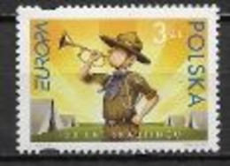 Pologne 2007 N° 4051 Neufs Europa Scoutisme - 2007