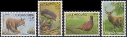1542/45** Luxembourg/Luxemburg/Luxemburg - BUZIN - Renard-Hérison-Faisan-Cerf/Vos-Egel-Fazant-Hert/Fuchs-Igel-Fasan-Reh - Unused Stamps
