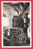 CPSM- Cameroun- Ann.50 -FOUMBAM- ArtBamoum- Trône Du Sultan *Ref. 362*Scan Recto/Verso - Camerun