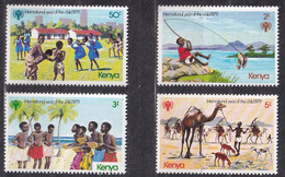 Michel - 135-138 - Postfrisch/**/MNH - Kenya (1963-...)