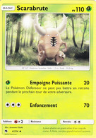 Carte Pokémon Scarabrute 4/214 PV110 - Pokemon