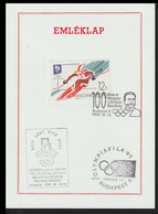 Hungary Card 1995 National Olympic Committee 100 Years From Budapest (G72-98) - Other