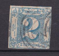 Thurn Und Taxis - 1864 - Michel Nr. 30 N4 - Gestempelt - 65 Euro - Thurn And Taxis