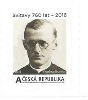 ** Private Stamp Czech Republic Engelmar Unzeitig, Catholic Priest, Angel Of Dachau 2016 Zwittau - Seconda Guerra Mondiale