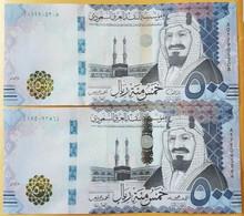 Saudi Arabia 500 Riyals 2016,2017 P-42 A,b 2 Pieces Of Each Date UNC - Saudi Arabia