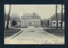 CPA 77 Noyen Sur Seine - Chateau De Noyen Près Bray Sur Seine --  (circulée En 1904) - Other Municipalities