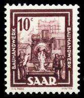 SAARLAND 1949 Nr 272 Postfrisch X5FE20E - Ungebraucht