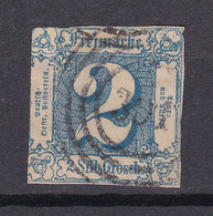 "Thurn Und Taxis - 1864 - Michel Nr. 30 N4 ""301"" Bremen - Gestempelt - 65 Euro - Thurn And Taxis"